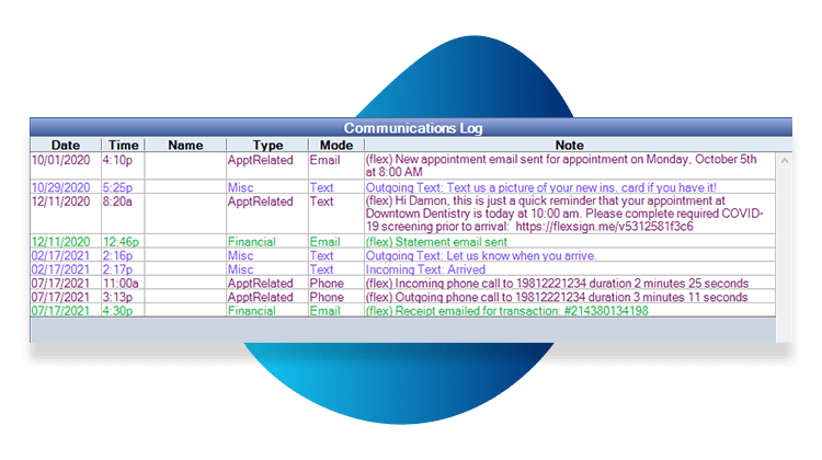 Comm Log VOIP